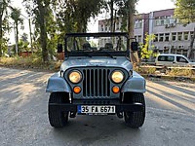 JEEP CJ5 MASRAFSIZ BAKIMLI... Jeep Jeep CJ-5