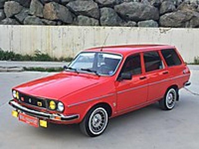 1984 RENAULT TSW BÜYÜK MOTOR SES SİSTEMLİ 2022 MUAYENELİ Renault R 12 TSW