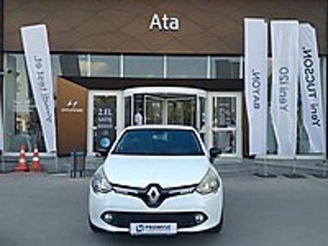 ATA HYUNDAİ PLAZADAN 2013 MODEL RENAULT CLİO 0.9 TCe İCON Renault Clio 0.9 TCe Icon
