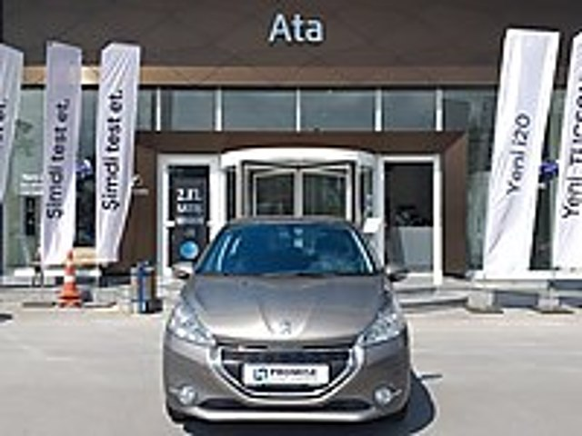 ATA HYUNDAİ PLAZADAN 2015 HATASIZ PEUGEOT 208 1.2 ACTİVE OTM Peugeot 208 1.2 PureTech Active