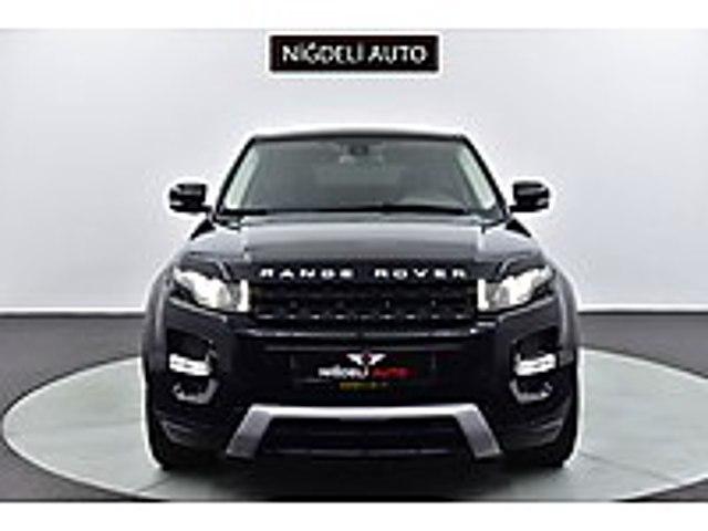 -NİĞDELİ AUTO- 2012 MODEL LAND ROVER EVOQUE 2.0 Sİ4 DYNAMİC... Land Rover Range Rover Evoque 2.0 Si4 Dynamic