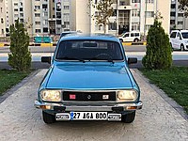 HASTASINA 1984 MODEL RENAULT 12 TSW MAVİ BONCUK Renault R 12 TSW