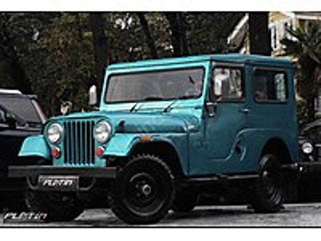 1963 JEEP WİLLYS KLASİK 1.3 65 HP 4x4 43.000KM Jeep Jeep Willys