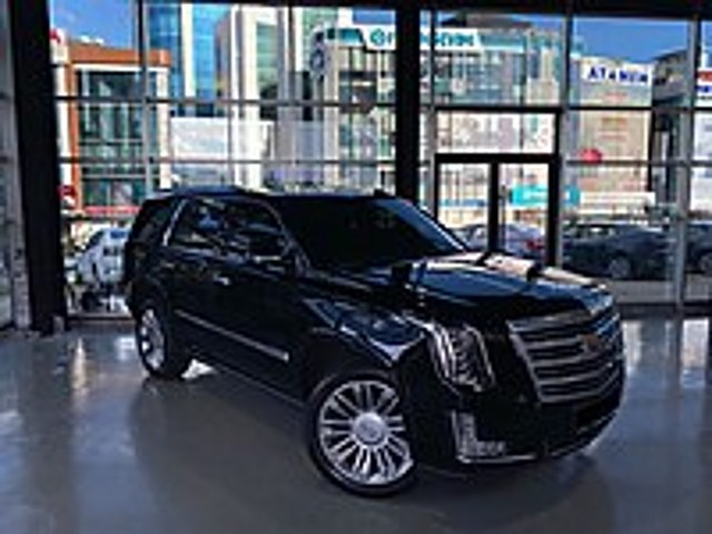 2015 Cadillac Escalade Platinium Boyasız Hatasız Siyah Taba Bose Cadillac Escalade 6.2 V8