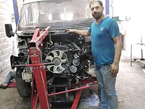 MOTOR USTASINDAN  MOTORU YENI YAPILMIŞ  FORD TRANSIT 90 T 330 S KLIMALI