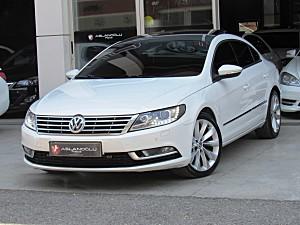 ASLANOĞLU PLAZA DAN 2014 VW CC 1.4 TSİ CAM TAVAN LED F1 PERDE