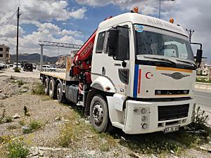 2004 MODEL 3230C 2107 MODEL FASSİ MARKA VİNÇ 13 TONLUK UZAKTAN KOMANDALI START STOPLU