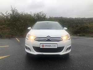 2011 Model 2. El Citroen C4 1.6 e-HDi  Exclusive - 123000 KM