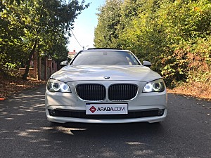 2012 Model 2. El BMW 7 Serisi 740d xDrive Exclusive - 136950 KM