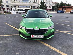 2020 Model 0 km Skoda Scala 1.0 TSI Premium - 0 KM