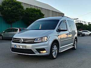 2016 VW CADDY 2.0 TDI COMFORTLINE 127 BIN KM ACIL SATILIK