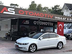 A.S OTOMOTİVDEN 2015 MODEL PASSAT 1.6 TDİ DSG COMFORTLİNE CAM TAVAN