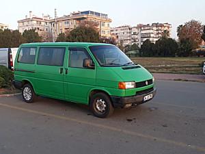 1995 MODEL ORİJİNAL ALMAN 5 1 CAMLI KOLTUKLU TEMİZ TRANSPORTER