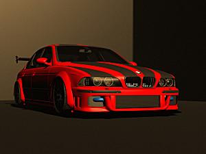 BMW E39 M5 CONCEPT TASARIM   PROJEDIR