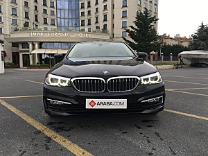 2018 Model 2. El BMW 5 Serisi 520d xDrive Pure - 59854 KM