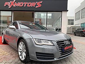 FİX MOTOR S DAN 2012 MODEL AUDİ A 7 3.O TDI QUARTRO