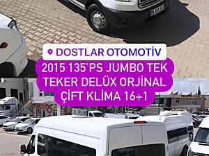 DOSTLAR OTOMOTİV 2015 JUMBO DELÜX ORJINAL ÇIFT KLIMA TEK TEKER 135 PS