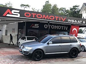 A.S OTOMOTİVDEN 2004 MODEL TOUAREG 3.2 V6 TAM DOLU