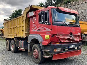 AKBULUTLAR DAN 2005 MODEL MERCEDES AXOR 2528 MOTOR YAPILMIŞ