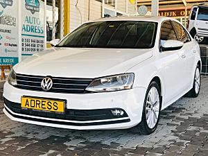 AUTO ADRESS TEN 2014 YENİ KASA VOLKSWAGEN JETTA 1 6 TDİ HİNGHLİNE FUL FUL