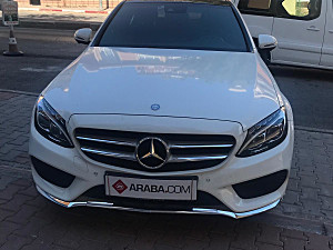2015 Model 2. El Mercedes C C 200 d AMG - 43000 KM