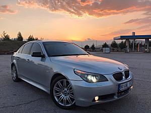 2007 BMW 5.20D M SPORT UYGUN FİYATA DARBESİZ