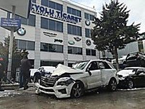 MERCEDES 2014 MODEL ML 350 BLUETEC AMG HURDA BELGELİ Mercedes ML