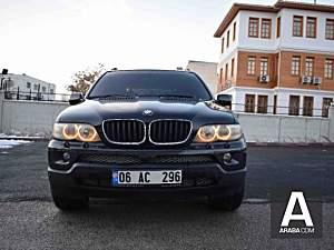 Akademisyenden 2004 Makyajlı Kasa BMW X5 4.4i