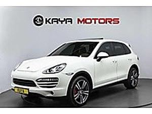 KAYA MOTORS  PORSHE  30 PEŞİN GERİ KALAN 12 24 30 36 AY TAKSİT Porsche Cayenne 3.0 Diesel