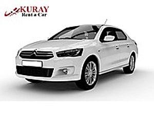 KURAYDAN UYGUN FİYATA KİRALIK ARAÇ Citroën C-Elysée