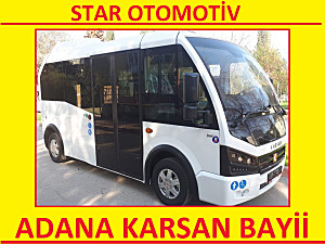 2019 KARSAN JEST SIFIR KM 15 1 - SİYAH CAM - ÇELİK CANTLI