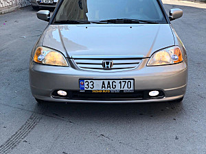 2002 HONDA CIVIC LS