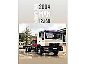AKKAYA OTOMOTİVDEN 2004 MAN 12 160 LE MAN 12 12.160
