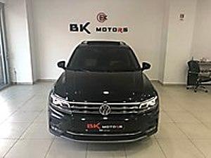 BK MOTORs 2017 V.W Tiguan 1.6 TDİ HİGHLİNE Cam Tavan HAYALET Volkswagen Tiguan 1.6 TDi Highline