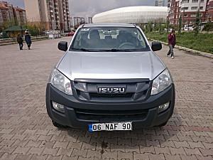 İLK SAHİBİNDEN ISUZU D-MAX ÇİFT KABİN  2014 model 4X4 T