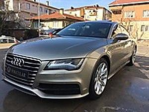 AUDİ A7 3.0 TDİ QUATTRO BAYİİ S LİNE-VAKUM-AİRMATİC FULL FULL Audi A7 3.0 TDI