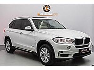 ORTAKLAR AUTO DAN 2015 BMW X5 4X4 HATASIZ BOYASIZ TRAMERSİZ BAYI BMW X5 25d xDrive