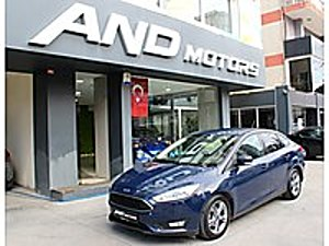 AND MOTORS 2017 FORD FOCUS 1.5 TDCI STYLE OTOMATİK 84.000KM FORD FOCUS 1.5 TDCI STYLE