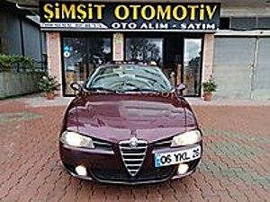 ŞİMŞİT OTOMOTİV DEN 1.6 TS 160.BİN KM SONROOFLU EMSALSİZ Alfa Romeo 156 1.6 TS Distinctive
