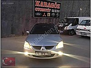 KARAGÖZ OTOMOTİV DEN 2004 MODEL 120 BİN KM DE 1.6 İNVİTE LANCER Mitsubishi Lancer 1.6 Invite
