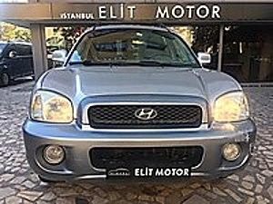 IST.ELİT MOTOR DAN 2004 HYUNDAİ SANTA-FE ELEGANCE 4X4 2.0 CRDİ HYUNDAI SANTA FE 2.0 CRDI ELEGANCE