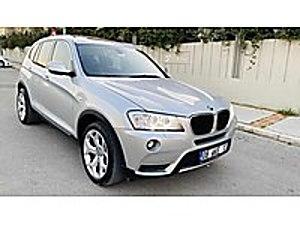2013 MODEL BMV X3 2.0 D XDRİVE BAYİİ BMW X3 20D XDRIVE COMFORT
