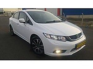 2014 CİVİC 1.6 İVTEC ECO ELEGANCE 70000KMDE KUSURSUZ SER. BAKIML Honda Civic 1.6i VTEC Eco Elegance