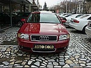 AUTO GOLD DAN TR DE TEK AMERİKAN VERSİYON SUNROOF BOSE DERİ FULL Audi A4 A4 Sedan 1.8 T Quattro