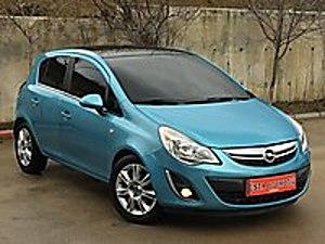 2012 OPEL CORSA 1.4 TWİNPORT COLOR EDİTİON BENZİNLİ MANUEL 100HP Opel Corsa 1.4 Twinport Color Edition