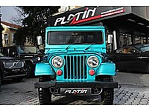 1963 JEEP WİLLYS KLASİK 1.3 65 HP 4x4 43.000KM Jeep Jeep Willys