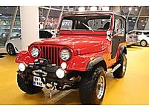 TAKSİM MOTORS 1977 JEEP CJ-5 RESTARASYONLU LPG Lİ Jeep CJ-5 CJ-5