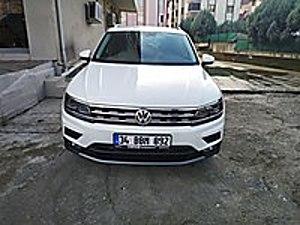 VOLKSWAGEN TİGUAN COMFORTLİNE.1.5 DSG ACT MOTOR YENİ NESİL Volkswagen Tiguan 1.5 TSI  Comfortline