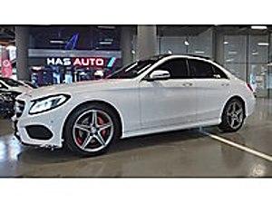 HAS AUTO DAN HATASIZ BOYASIZ C 200 d BLUETEC AMG FULL BAKIMLI Mercedes - Benz C Serisi C 200 d BlueTEC AMG