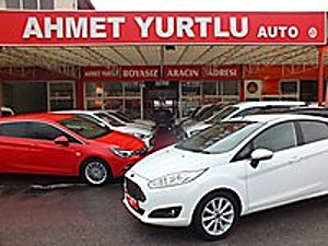 AHMET YURTLU AUTO 2016 FİESTA TİTANİUM 57000KM OTOM BOYASIZ Ford Fiesta 1.6 Titanium